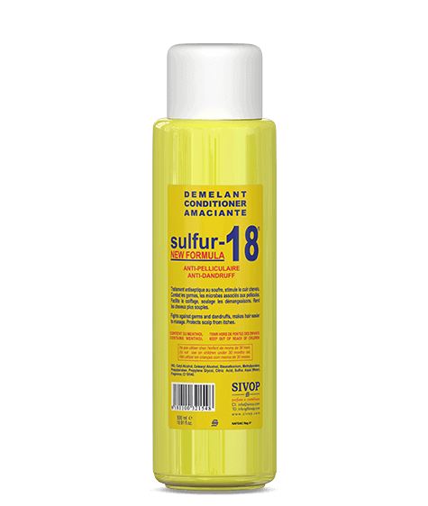 SULFUR-18 Anti-dandruff hair conditioner - SIVOP