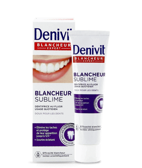 DENIVIT White and Brilliant toothpaste - SIVOP