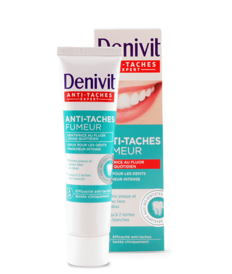 DENIVIT Smokers Anti-stain toothpaste - SIVOP