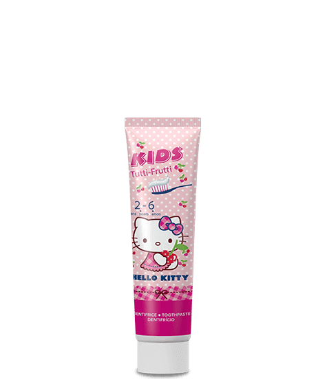 HELLO KITTY Pink toothpaste Gel - SIVOP