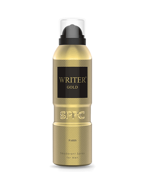 WRITER Gold Deodorant for Men - SIVOP