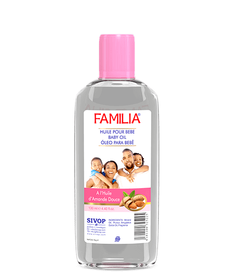 FAMILIA Moisturizing Oil with Sweet Almond Oil - SIVOP