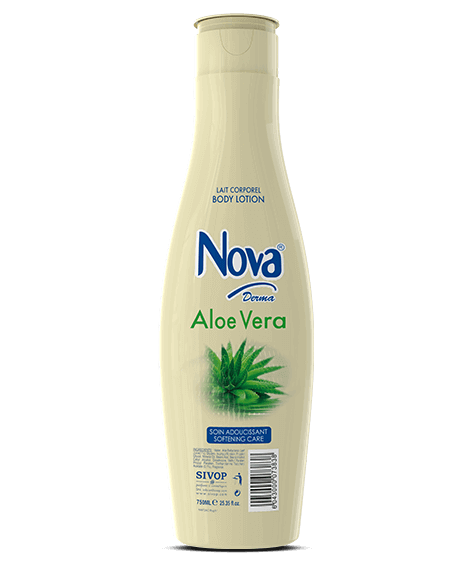 NOVA Derma Moisturizing Body Lotion with aloe vera  - SIVOP