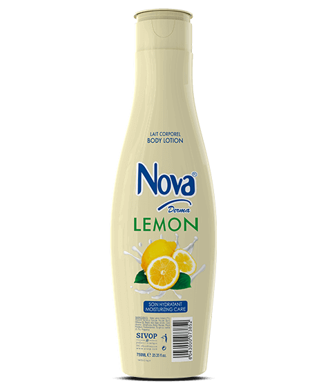 NOVA Derma Moisturizing Body Lotion with lemon - SIVOP