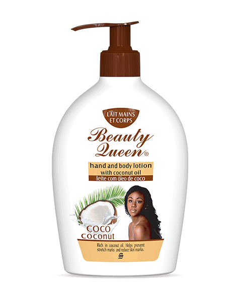 BEAUTY QUEEN Moisturizing Body Lotion with coconut oil - SIVOP