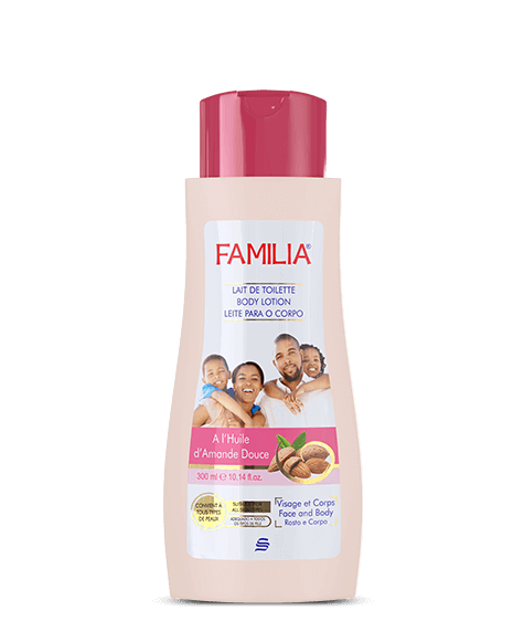 FAMILIA moisturizing Body Lotion with sweet almond oil - SIVOP
