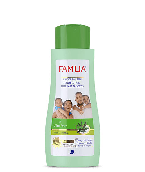 FAMILIA Moisturizing Body Lotion with Aloe Vera - SIVOP