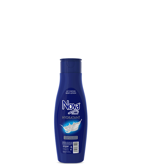 Blue NOVA DERMA Moisturizing Body Lotion - SIVOP