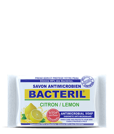 BACTERIL Antimicrobial soap with lemon - SIVOP