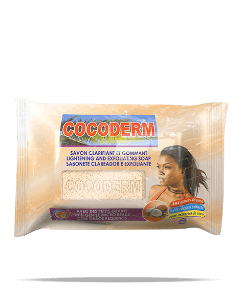 COCODERM Cleansing and exfoliating soap - SIVOP