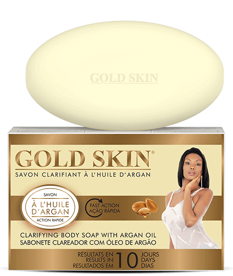 GOLD SKIN Clarifying Soap with Argan Oil - SIVOP