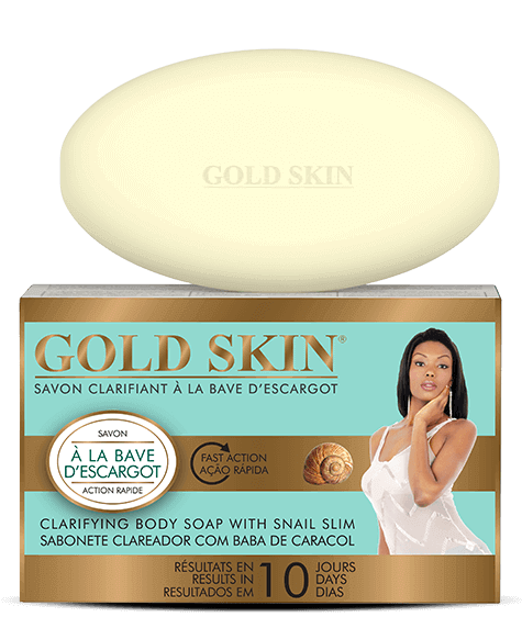 GOLD SKIN Clarifying Soap with snail slime - SIVOP