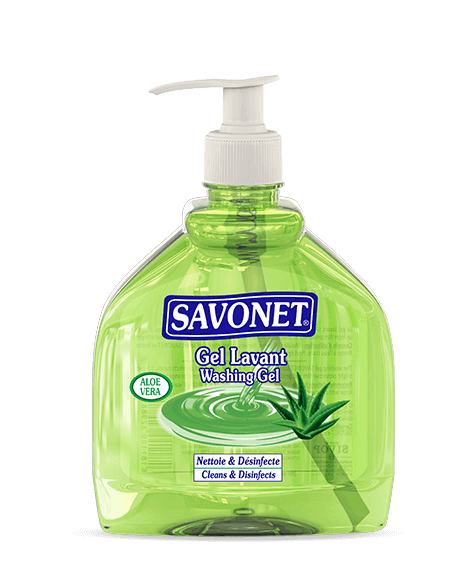 SAVONET Washing gel with aloe vera - SIVOP