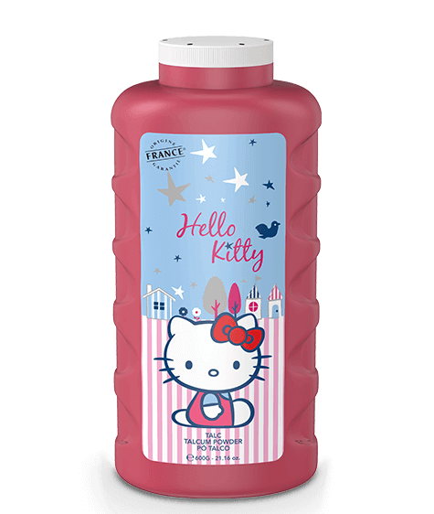 Pink HELLO KITTY Talc - SIVOP